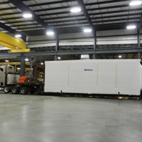 Wrapped Module for Delivery - Systecon Inc.