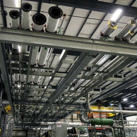 Overhead Pipe Rack - Systecon Inc.
