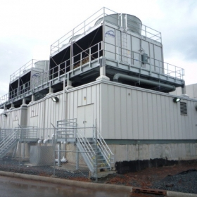 Outdoor Modular Chiller Plant - Systecon